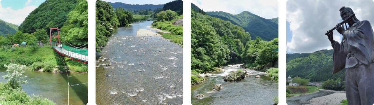 最上小国川 写真